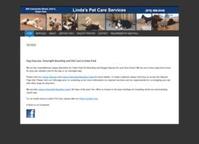 lindaspetcareservices.com