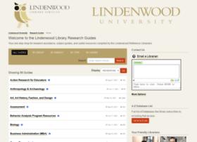 lindenwood.libguides.com
