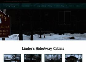 lindershideawaycabins.com