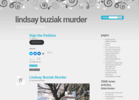 lindsaybuziakmurder.com