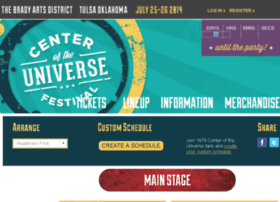 lineup.centeroftheuniversefestival.com