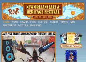 lineup.nojazzfest.com