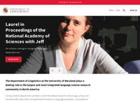 ling.umd.edu