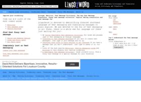 lingo2word.com