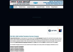 linguaworldservices.com