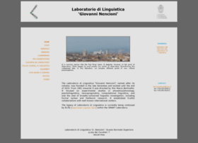 linguistica.sns.it