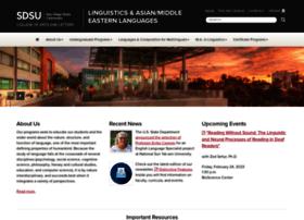 linguistics.sdsu.edu