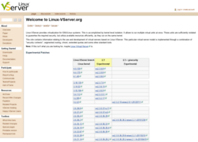 linux-vserver.org
