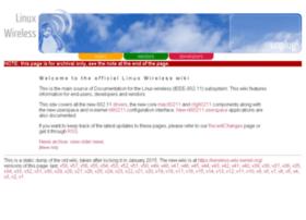 linuxwireless.org