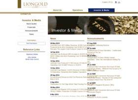 liongoldcorp.listedcompany.com
