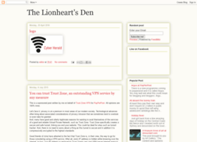 lionheartsden.blogspot.com