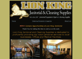 lionkingjanitorial.com