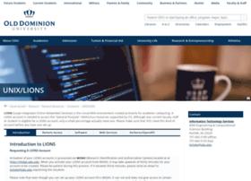 lions.odu.edu