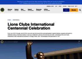 lions100.lionsclubs.org