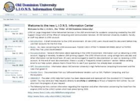 lions2.odu.edu