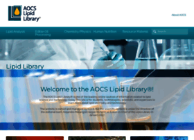 lipidlibrary.aocs.org