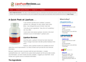 lipofuzereviews.com
