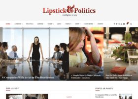 lipstickandpolitics.com