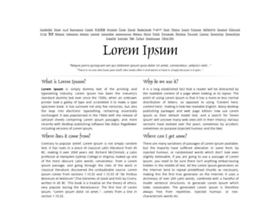 lipsum.com
