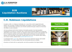 liquidation.chrobinson.com