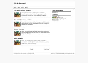 lirikdanmusikmp3.blogspot.com