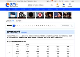 lishi.tianqi.com