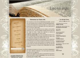 lisons.info