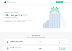 list-lawyers.com