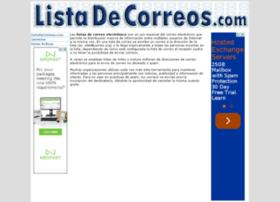 listadecorreos.com