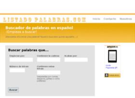 listadopalabras.com
