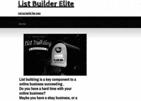 listbuilderelite.webs.com