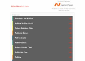 listbuildersclub.com