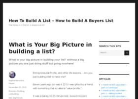 listbuildinghowto.com