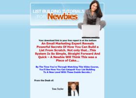 listbuildingtutorialsfornewbies.com