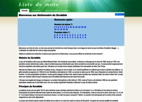 listedemots.fr