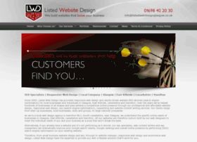 listedwebsitedesign.com