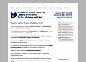 listedwindowrefurbishment.co.uk