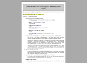 listening-test.coresv.net