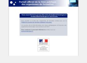 listeof.travail.gouv.fr