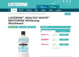 listerinewhitening.com