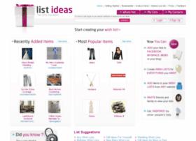 listideas.com
