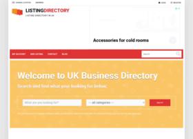 Listing.org.uk
