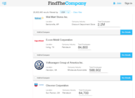listings.findthecompany.com