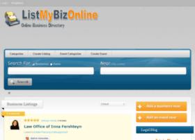 listmybizonline.com