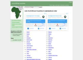 listofafricancountries.com