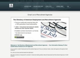 listofemploymentagencies.net