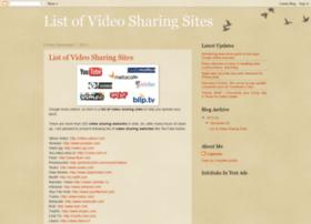 listofvideosharingsites.blogspot.in