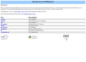 lists.dns-oarc.net