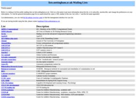 lists.nottingham.ac.uk