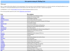 lists.openstreetmap.de